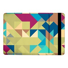 Scattered pieces in retro colors	Samsung Galaxy Tab Pro 10.1  Flip Case