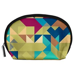 Scattered pieces in retro colors Accessory Pouch