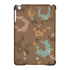 Paint Strokes In Retro Colors Apple Ipad Mini Hardshell Case (compatible With Smart Cover)
