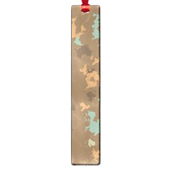 Paint Strokes In Retro Colors Large Book Mark