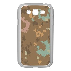Paint Strokes In Retro Colors Samsung Galaxy Grand Duos I9082 Case (white)