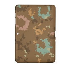 Paint Strokes In Retro Colors Samsung Galaxy Tab 2 (10 1 ) P5100 Hardshell Case