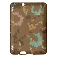 Paint Strokes In Retro Colors Kindle Fire Hdx Hardshell Case