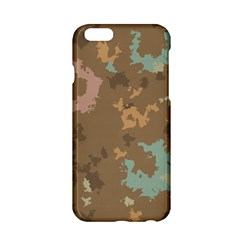 Paint Strokes In Retro Colors Apple Iphone 6 Hardshell Case