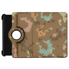 Paint Strokes In Retro Colors	kindle Fire Hd Flip 360 Case