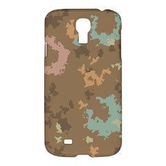 Paint Strokes In Retro Colors	samsung Galaxy S4 I9500/i9505 Hardshell Case $10