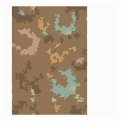 Paint Strokes In Retro Colors Small Garden Flag