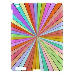 Colorful Beams Apple Ipad 3/4 Hardshell Case