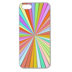 Colorful Beams Apple Seamless Iphone 5 Case (clear)