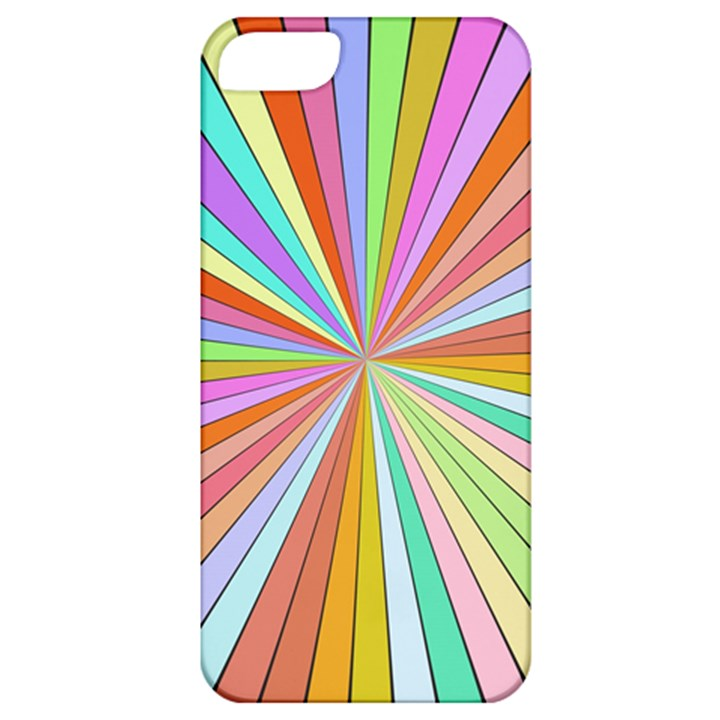 Colorful beams Apple iPhone 5 Classic Hardshell Case