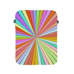 Colorful Beams Apple Ipad 2/3/4 Protective Soft Case