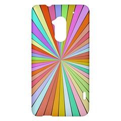 Colorful beams HTC One Max (T6) Hardshell Case