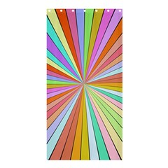 Colorful beamsShower Curtain 36  x 72