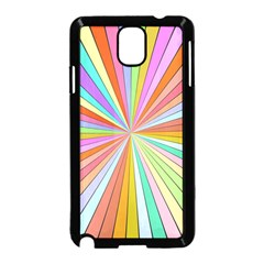 Colorful Beams Samsung Galaxy Note 3 Neo Hardshell Case