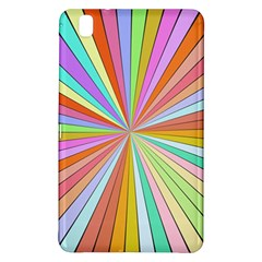 Colorful beams	Samsung Galaxy Tab Pro 8.4 Hardshell Case