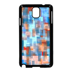 Blue orange watercolors Samsung Galaxy Note 3 Neo Hardshell Case