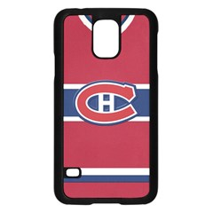 Montreal Canadiens Jersey Style  Samsung Galaxy S5 Case (Black)