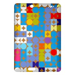 Circles And Rhombus Pattern Kindle Fire Hd (2013) Hardshell Case
