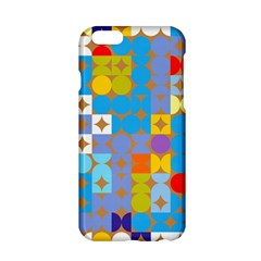 Circles and rhombus pattern Apple iPhone 6 Hardshell Case