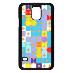 Circles and rhombus patternSamsung Galaxy S5 Case