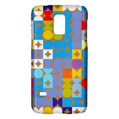 Circles and rhombus patternSamsung Galaxy S5 Mini Hardshell Case