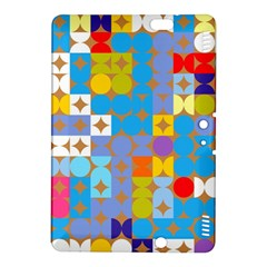 Circles and rhombus patternKindle Fire HDX 8.9  Hardshell Case