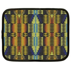 Triangles And Other Shapes Pattern Netbook Case (xl)