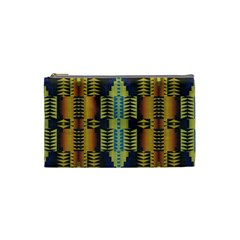 Triangles And Other Shapes Pattern Cosmetic Bag (small)