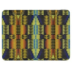 Triangles and other shapes pattern Samsung Galaxy Tab 7  P1000 Flip Case