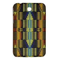 Triangles And Other Shapes Pattern Samsung Galaxy Tab 3 (7 ) P3200 Hardshell Case