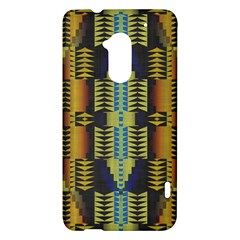 Triangles and other shapes pattern HTC One Max (T6) Hardshell Case