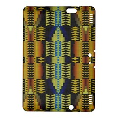 Triangles and other shapes pattern Kindle Fire HDX 8.9  Hardshell Case