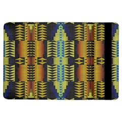Triangles and other shapes pattern	Apple iPad Air Flip Case