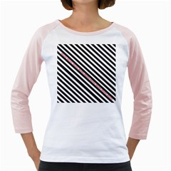 Selina Zebra Girly Raglans