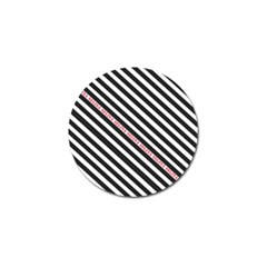 Selina Zebra Golf Ball Marker