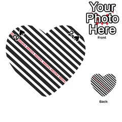 Selina Zebra Playing Cards 54 (Heart)