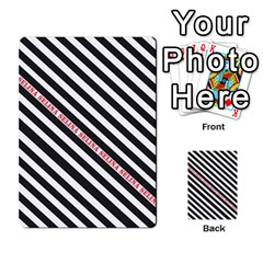 Selina Zebra Multi Purpose Cards (rectangle)
