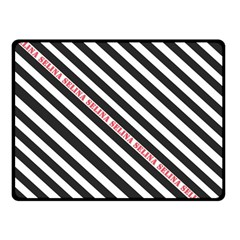 Selina Zebra Fleece Blanket (small)