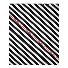 Selina Zebra Shower Curtain 60  x 72  (Medium)