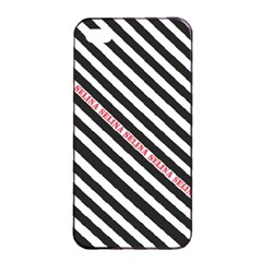Selina Zebra Apple iPhone 4/4s Seamless Case (Black)