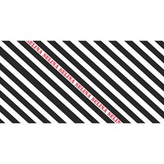 Selina Zebra YOU ARE INVITED 3D Greeting Card (8x4)