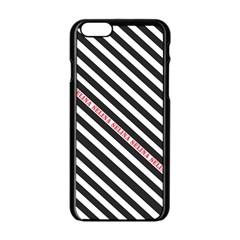 Selina Zebra Apple iPhone 6 Black Enamel Case