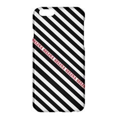 Selina Zebra Apple Iphone 6 Plus Hardshell Case