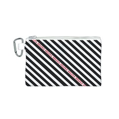 Selina Zebra Canvas Cosmetic Bag (S)
