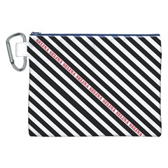 Selina Zebra Canvas Cosmetic Bag (xxl)