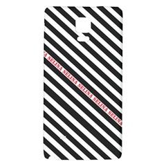 Selina Zebra Galaxy Note 4 Back Case