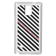 Selina Zebra Samsung Galaxy Note 4 Case (white)