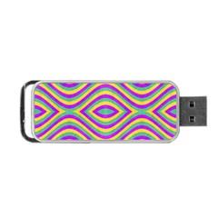 Vintage Geometric  Portable USB Flash (Two Sides)