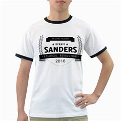 Bernie We Stand 3 Ringer T Shirts