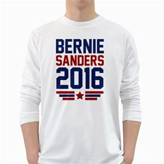 Bernie 2016 Athletic White Long Sleeve T-Shirts